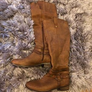 Light Brown Riding Boots